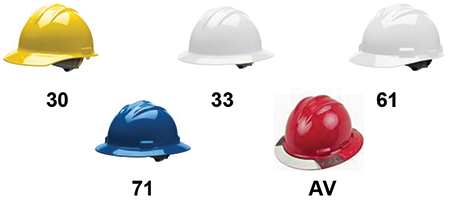 Hard Hat Options
